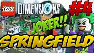 Download CENTRAL NUCLEAR DE SPRINGFIELD Y EL JOKER!! - LEGO DIMENSIONS #4 Video