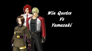 Download The King of Fighters XIV: Win Quotes vs Yamazaki Video