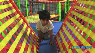 Download Indoor Playground for kids with Giant inflatable Slides Video