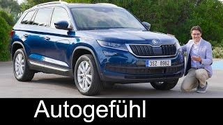 Download Skoda Kodiaq FULL REVIEW test driven all-new SUV neu Style & Ambition 1.4 TSI - Autogefühl Video