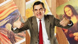 Download Painting   Handy Bean   Mr Bean Official Video