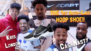 "Download HOOPING IN THE NEW ""NIKE ADAPT BB's″!! (Feat. Kris London & CashNasty) Video"