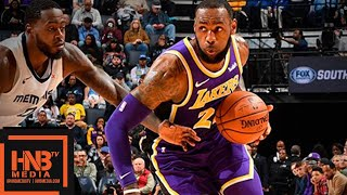 Download Los Angeles Lakers vs Memphis Grizzlies Full Game Highlights | 12.08.2018, NBA Season Video