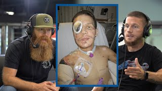 Download The Grenade & what I thought were my last moments | Kyle Carpenter Order of Man Podcast Highlights Video