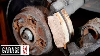 Download Wooden brake-pads: will they work or not? Video