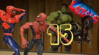 Download SPIDERMAN STOP MOTION Action Video Part 15 Homecoming Video