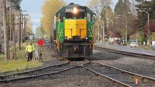 Download Willamette Valley Railway 2503 Switching & Work train Video