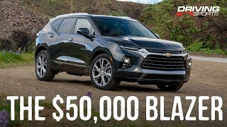 Download 2019 Chevrolet Blazer Premier AWD Reviewed: Worth Nearly $50,000? Video