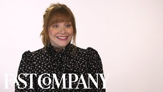 Download Bryce Dallas Howard Landed Her First Lead Role In A Surprising Way | Fast Company Video