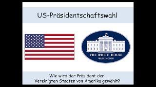 Download US-Präsidentschaftswahl erklärt: Wie wird der US-Präsident gewählt? (Wahlmänner | swing state) 1/2 Video