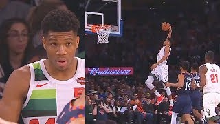 Download Giannis Gets REVENGE On Entire Knicks & Receives Standing Ovation From The Crowd! Bucks vs Knicks Video