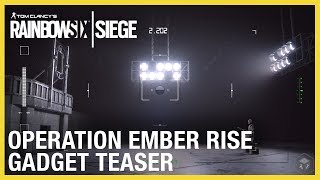 Download Rainbow Six Siege: Operation Ember Rise – New Operator Gadgets Teaser   Ubisoft [NA] Video
