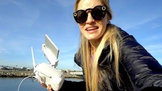 Download Flying under bridges!   iJustine Video