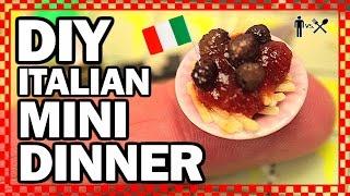 Download DIY MINI DINNER - Man Vs Din Video
