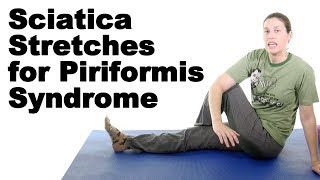 Download 5 Best Sciatica Stretches for Piriformis Syndrome - Ask Doctor Jo Video