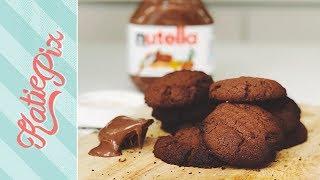 Download 3 Ingredient Nutella Chocolate Cookie Recipe   Katie Pix Video