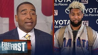 Download Nick and Cris on reports the Giants want at least two 1st-round picks for Odell | FIRST THINGS FIRST Video