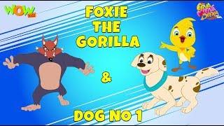 Download Foxie the Gorilla | Dog Number 1- Eena Meena Deeka - Animated cartoon - Non Dialogue Video