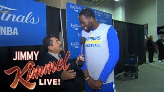 Download Guillermo vs LeBron James at 2017 NBA Media Day Video
