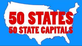Download Learn the 50 US State Capitals and 50 State Abbreviations | 50 States Song Video