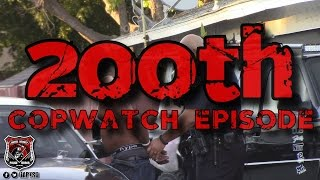Download Copwatch | Refusal to Take Facial Recognition Photo Arrest | 200th Episode! Video