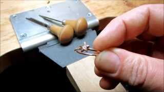 Download Making Diamond Rings Handmade Rose Gold Ring in London Video