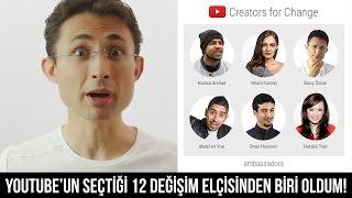 Download YouTube'un seçtiği 12 değişim elçisinden biri oldum #CreatorsforChange Video