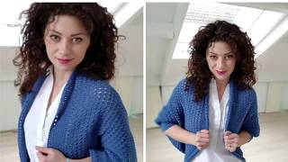 Download Jolie Cardigan Crochet tutorial. Beginner Friendly Video