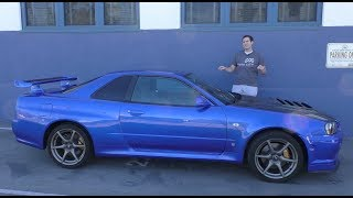 Download Here's a Tour of a USA-Legal R34 Nissan Skyline GT-R Video