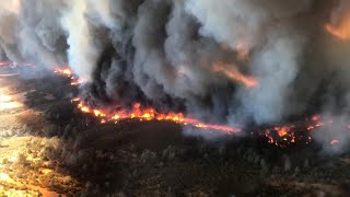 Download ″Extreme and aggressive″ Calif. wildfire explodes in size Video