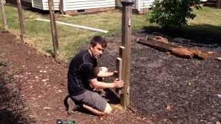 Download How to remove a fence post in under 5 minutes...without digging! Video