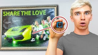 Download WE FOUND THE GAME MASTER TOP SECRET HIDDEN SPY CAMERA in our HOUSE! (TRACKING DEVICE HACKED) Video