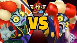Download 4 KABUKING vs ULTRA KABUKING in Yo-kai Watch Blasters (Theme Team) Video