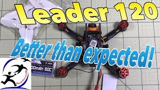 Download Leader 120 drone. A SUPER CHEAP 3 inch drone that turn out better than expected Video