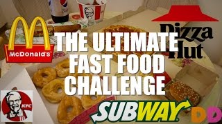 Download THE ULTIMATE FAST FOOD CHALLENGE (8000+ CALORIES) Video