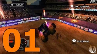 Download Monster Jam: Battlegrounds - Part 1 - Welcome (Xbox 360 Gameplay) Video