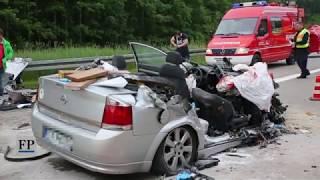 Download Drei Tote bei Unfall auf der A 4 bei Hainichen Video