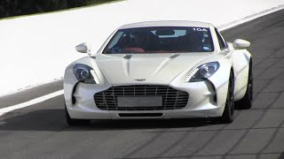 Download Aston Martin ONE-77 Loud Track Sounds! 5 of Them!! Video