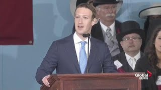 Download Facebook CEO Mark Zuckerberg delivers Harvard commencement full speech Video