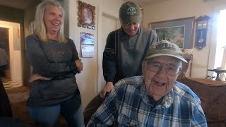 Download Barn Finds Of A 98 Year Old World War II Veteran Video