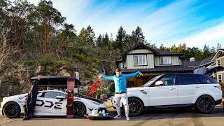 Download *SHOCKING* What Has More Capacity For Cargo? Range Rover VS Lamborghini Video