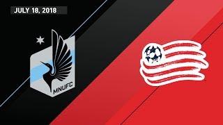 Download HIGHLIGHTS: Minnesota United FC vs. New England Revolution | July 18, 2018 Video