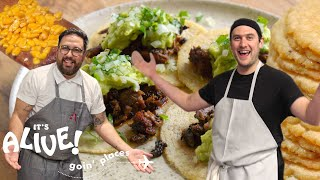 Download Brad Makes Tortillas | It's Alive: Goin' Places | Bon Appétit Video