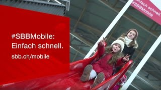 Download #SBBMobile: Einfach schnell - tout simplement rapide - simply fast. Video