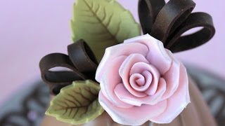 Download How to Make Chocolate Roses and Leaves Video