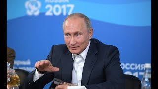 Download Young Russian Scientist Explains To Putin Why He Did Come Back To Russia From West Video
