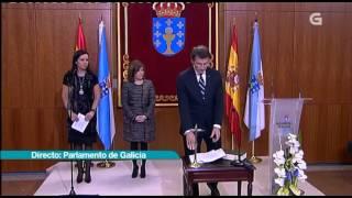 Download Alberto Núñez Feijóo no acto da súa toma de posesión como presidente da Xunta Video