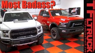 Download 2017 Ford Raptor vs Ram Power Wagon: For $63K Which One Would You Buy? Video