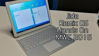 Download Jide Remix OS Hands On & Demo at MWC 2016 Video
