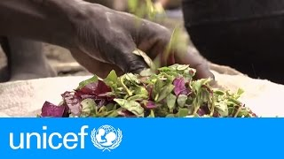 Download ″We are eating grass because there is no food.″ – South Sudan | UNICEF Video